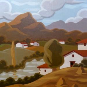 Paysage Basque - 41x33