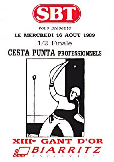 Affiche Gant d'Or